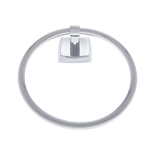 Serene Series Towel Ring in Polished Chrome
